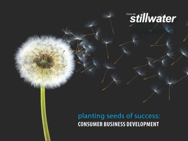 Consumer Business Development (City of Stillwater, Oklahoma)