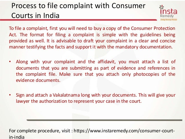 Consumer courts in india 5 process to file complaint with consumer courts spiritdancerdesigns Gallery