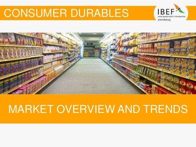 Dissertation report consumer durables