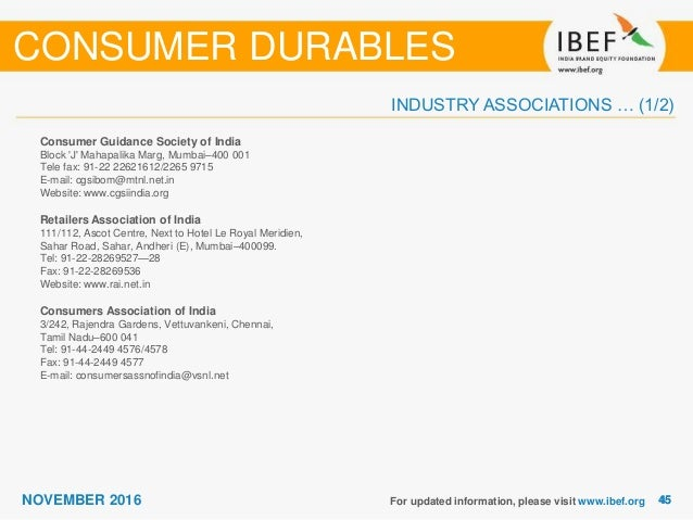 consumer durables industry Hike in custom duty may impact coming festive sales, consumer durable industry increase in the basic customs duty on acs, refrigerators and washing machines will bring back the emphasis on centre.