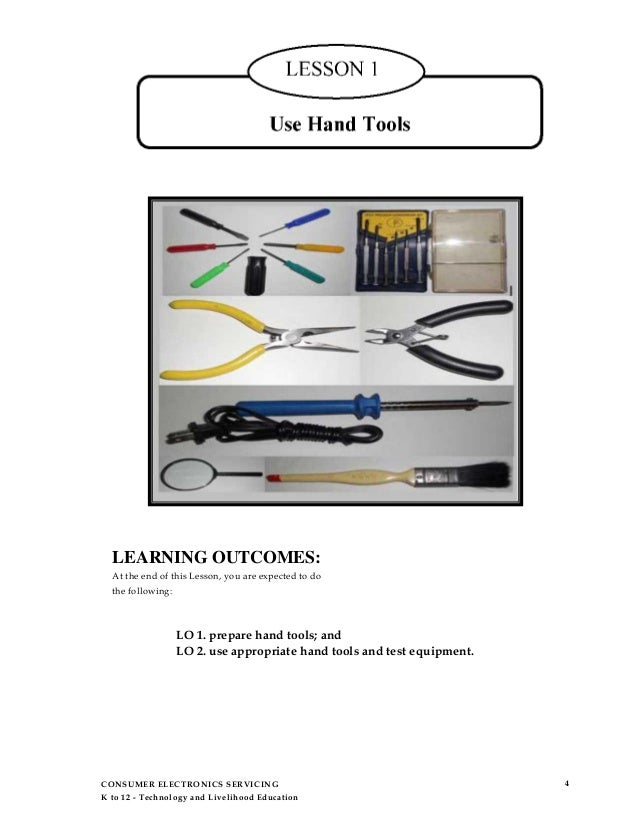 electrical hand tools and their functions. livelihood education; 5. electrical hand tools and their functions