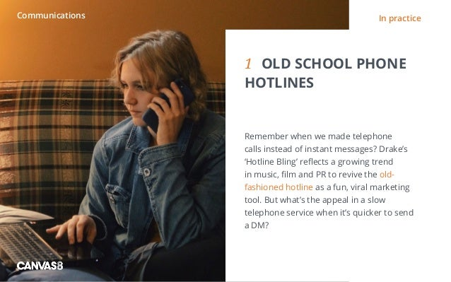Eating and drinking / 1 1 DIRTY DINING People don't always want to eat clean1 OLD SCHOOL PHONE HOTLINES Remember when we...