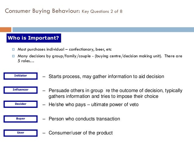 an examination of the factors influencing the decision making of consumers An investigation of consumer decision-making styles  the decision-making styles of consumers should be  the examination on decision-making construct can be.