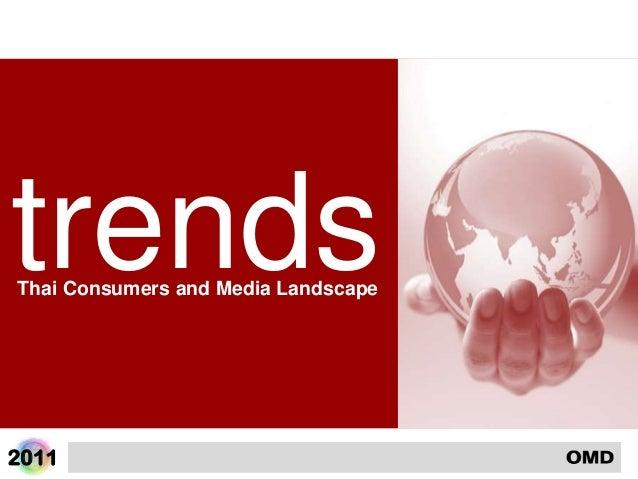 2011trendsThai Consumers and Media Landscape