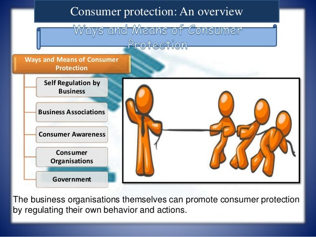 Consumer awareness and protection