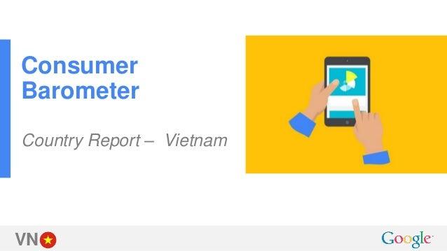VN Consumer Barometer Country Report – Vietnam