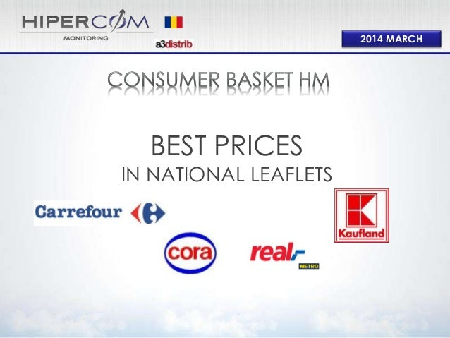 2014 MARCH BEST PRICES IN NATIONAL LEAFLETS