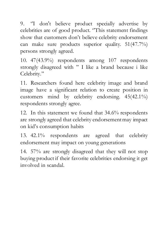 The Impact of Celebrity Endorsement on Strategic Brand ...