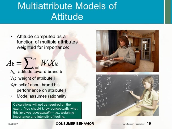 multiattribute walmart The fishbein multiattribute model is a very useful model in marketing assume  that you were the cmo of costco, and you were preparing a presentation to other .
