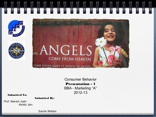 Consumer Behavior                                              Presentation - 1                                           ...