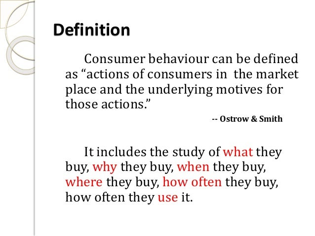 Consumer Purchase Behavior in the Jeans Industry
