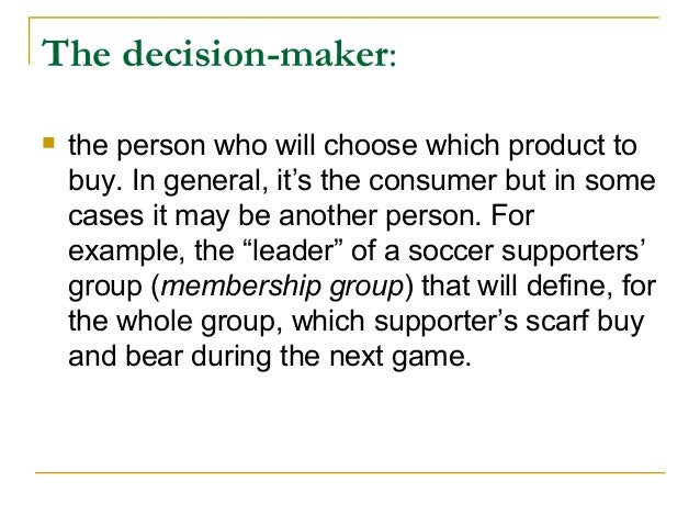 consumer behavior case study reference groups Factors affecting consumer buying behavior of mobile the purpose of this study is to investigate the factors affecting the decision reference group.