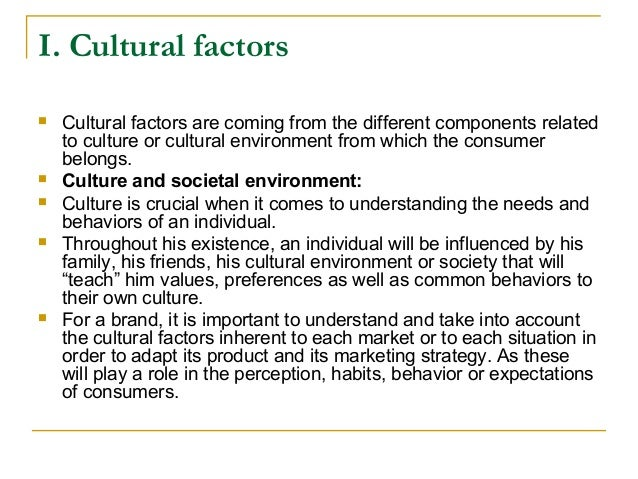 Cultural and social factors that affect development