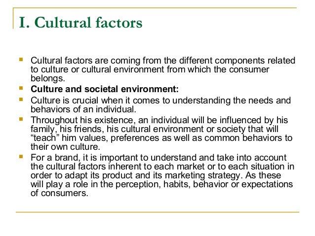 factors that influence cultural change
