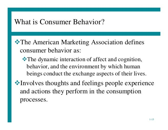 elements of consumer behaviour 5 psychological tactics marketers use to influence consumer behavior in a quest to understand what drives consumers' decisions, marketers have turned to psychology to understand what could make .
