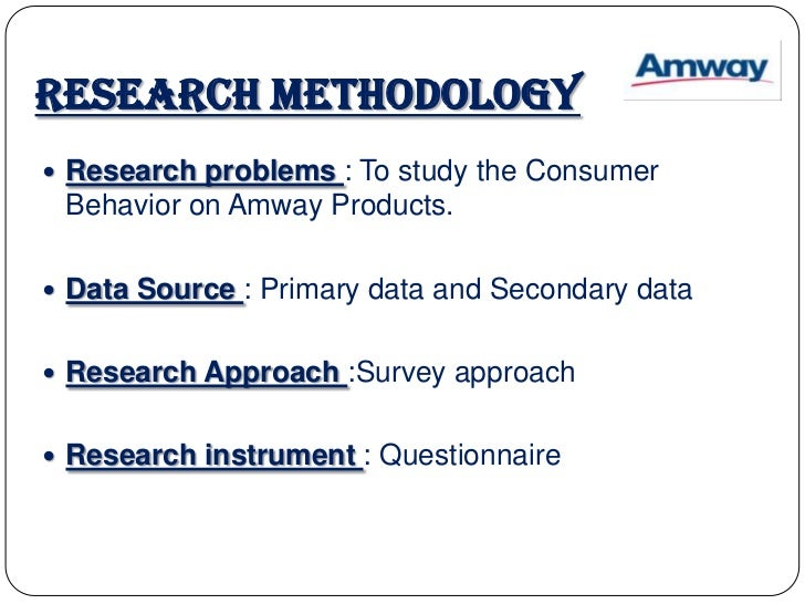 amway product differentiation Carry the amway name in the areas of nutrition,  product differentiation- brands  a brief report on nutraceutical products in india.