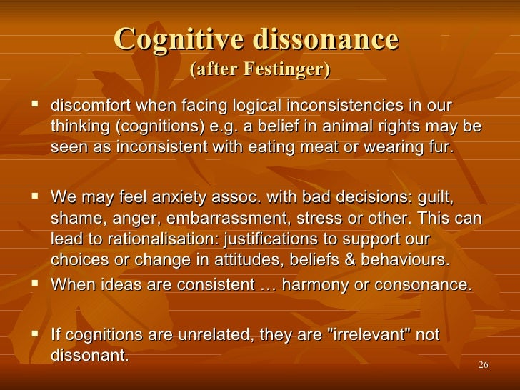 cognitive dissonance and paradigms in research Request pdf on researchgate   selectivity paradigms and cognitive dissonance   selective exposure and attention are key terms in communication research and particularly in media effects.