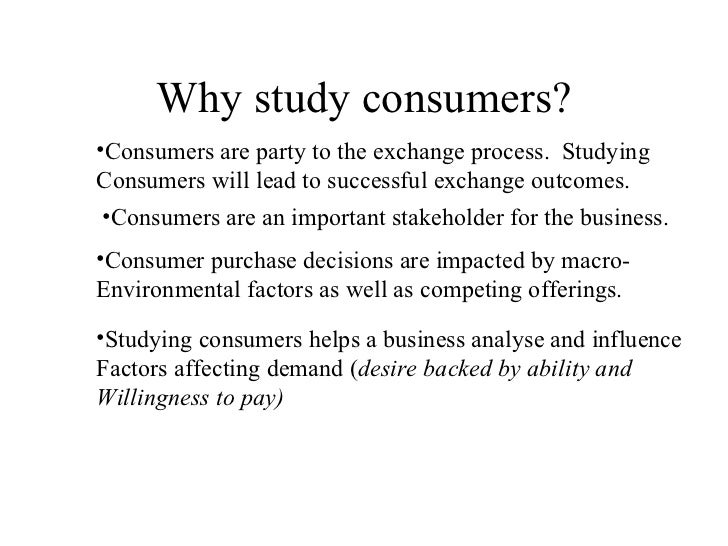 consumer behavior 7 essay Consumer buying behaviour refers to the buying behaviour of final customers - individuals and households who buy goods and services for personal consumption the consumer market consists of all these individuals and households.