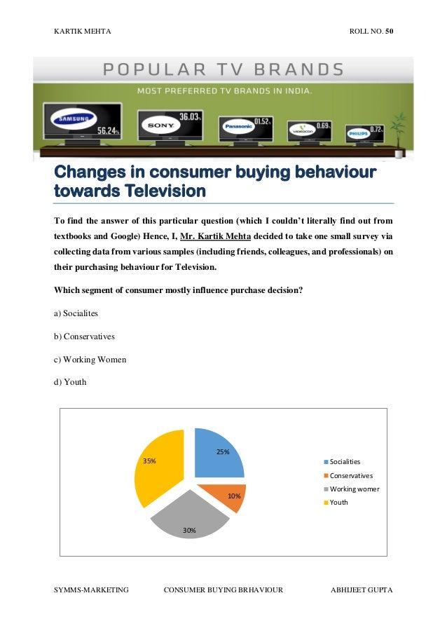 Hugo just different consumer behaviour