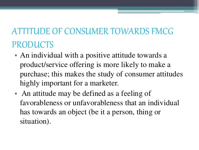 consumer behaviour towards fmcg goods Questionnaire relating to post consumer buying behaviour on fmcg.