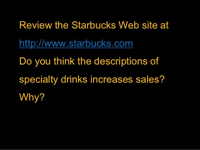 starbucks consumer behavior essays Consumer behavior: starbucks corporation view full essay more like this consumer behavior - starbucks an analytical study of the competitive environment & consumer behavior in the cellular industry consumer behavior and social strata in transition economies.
