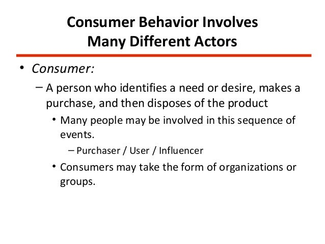 course notes consumer behaviour Video created by ie business school for the course market research and consumer behavior this course consists of two blocks: marketing research and consumer behavior first, learners will see the tools and methods to be able to effectively.