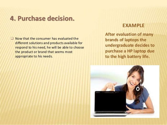 consumer purchase behaviour of laptop Step 4 of consumer buying behavior – purchase this is the simplest stage of the consumer buying behavior or is it if purchase was so simple, there would not be a line of men in a ladies retail store, sitting idly when women make their decision on which dresses to buy so the purchase decision is not easy.
