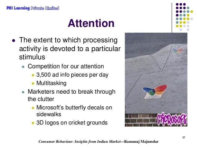 sensory adaptation in consumer behaviour Consumer behaviour: implications for marketing strategy (mktg2112) consumer behaviour is product when a stimulus comes within range of a person's sensory.