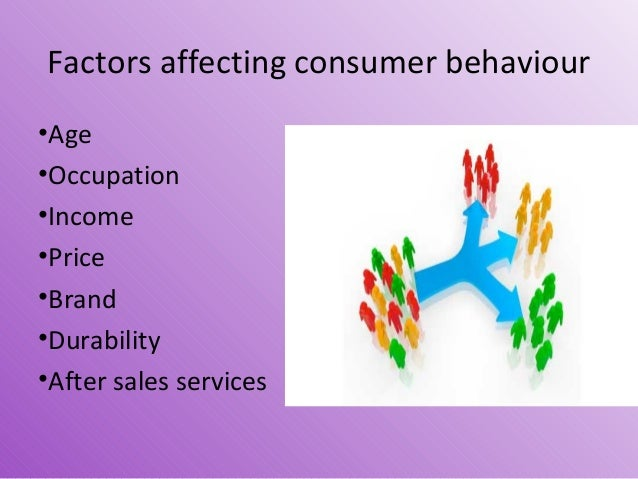 an analysis of the different factors affecting consumer behavior This study contributes to a deeper understanding of the impact of different factors on consumer buying behaviour it analyses the relationship between several i.