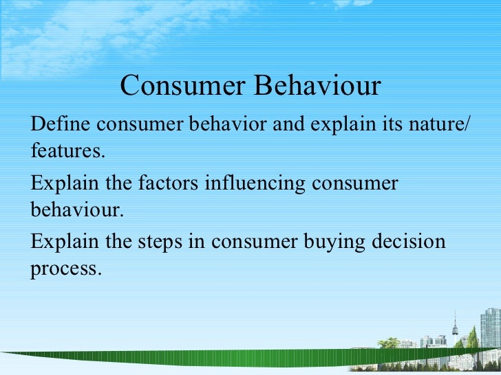 exploring influential factors affecting consumer preference An understanding of the influence of cultural factors on preferences and  behaviour is a priority this qualitative article considers how consumer.