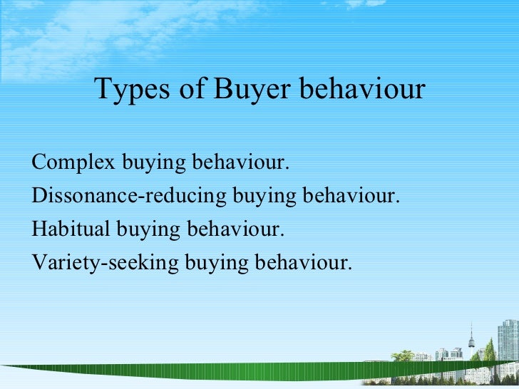 importance of consumer buying behaviour in marketing management Studying consumer behavior theories can help marketers develop  the science  of marketing is increasingly important to success in the modern marketplace   alfred marshall was an economist who believed that consumers buy their  of  science in business administration – marketing management.