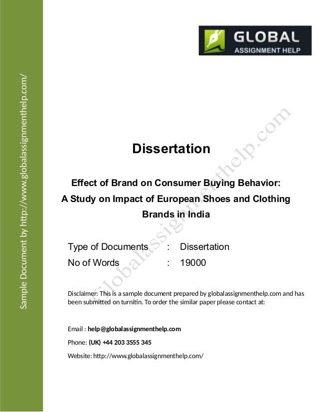 dissertation consumer behaviour recession This dissertation explores the impact of recession on consumer buying behaviour marketing dissertation topics.