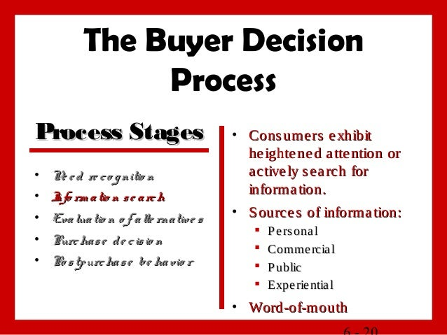 buyers behavior Unit - i consumer behaviour and marketing action learning objectives after studying this chapter, you will be.