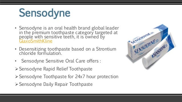 sensodyne strategies Sensodyne: how marketing created a billion dollar brand executive summary: this is the story of how a change in marketing strategy completely transformed the fortunes of sensodyne.