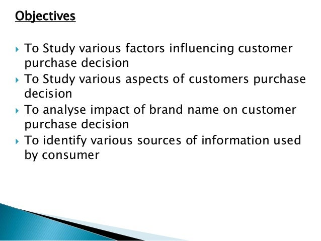 consumer decision questionnaire Consumer behaviour emphasizes on understanding the purchase decision  before starting the data collection process, the questionnaire was designed.