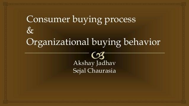 consumer buying behavior process pdf