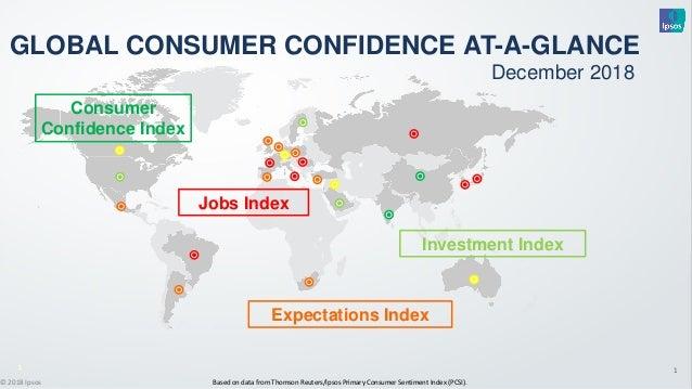 1 Based on data from Thomson Reuters/Ipsos Primary Consumer Sentiment Index (PCSI).© 2018 Ipsos 1111111 Consumer Confidenc...