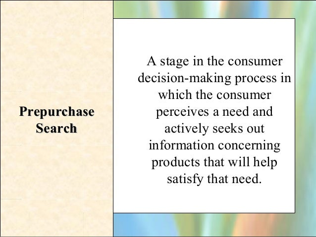 How consumer decision making process differ