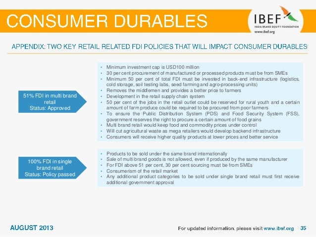 indian consumer durable industry Growth prospect of consumer durables industry in india with the continuous inflow of disposable income and advancement of technology, the demand for varied consumer durable goods is witnessing a relentless upwards movement in india.