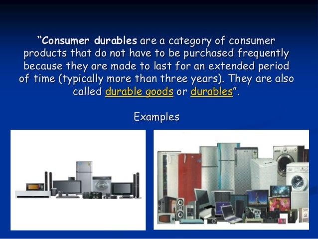 Consumer Durables
