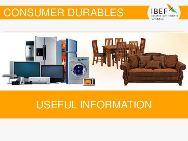 Dissertation report on consumer durables