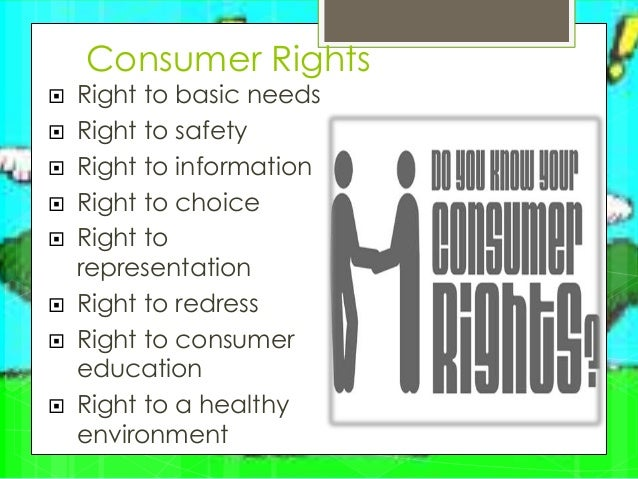 report on how consumers act incomplete The consumer guarantees act (cga) protects consumers by, among other things: allowing them to seek repairs, replacements or refunds when goods are faulty setting minimum guarantees that apply to all products and services.