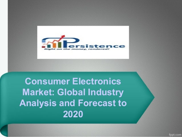 analysis of consumer electronic market in