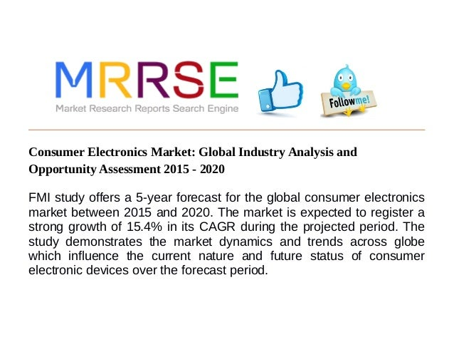 Consumer Electronics Market: Global Industry Analysis and Opportunity…