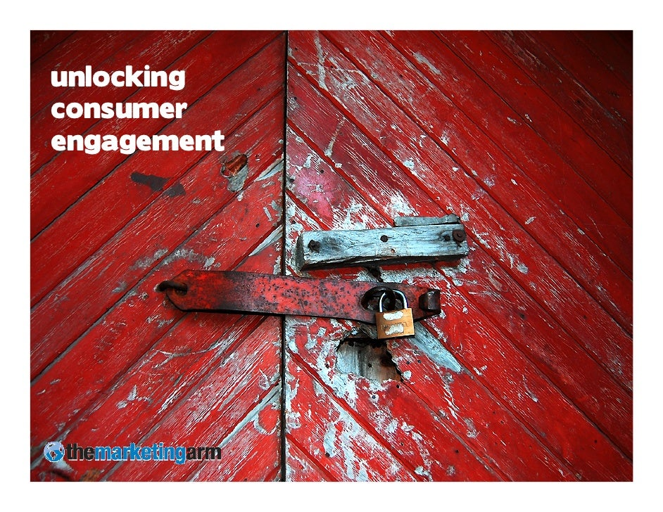 unlocking consumer engagement