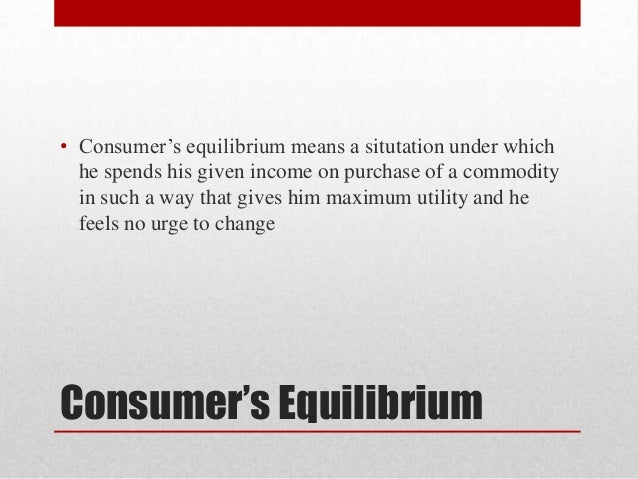 utility analysis consumer equilibrium and mathematics Optimization methods in economics 1 john baxley department of mathematics wake forest university june 20, 2015 1notes (revised spring 2015) to accompany the textbook introductory mathematical economics by d w hands.
