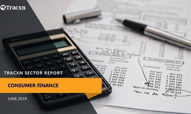 JUNE 2019 CONSUMER FINANCE