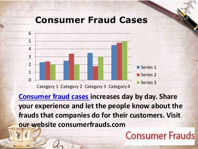 consumer fraud The illinois consumer fraud and deceptive business practices act is a state statute designed to protect consumers from business owners who use deceptive tactics to prey on consumers.