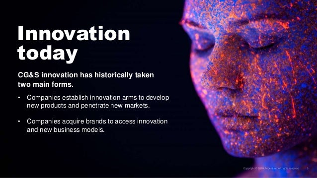 Accenture Tech Vision 2019 for Consumer Goods and Services
