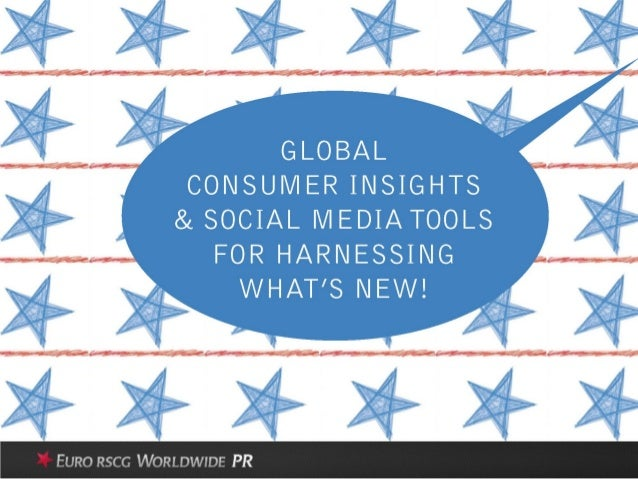 Consumer Insights and Social tools